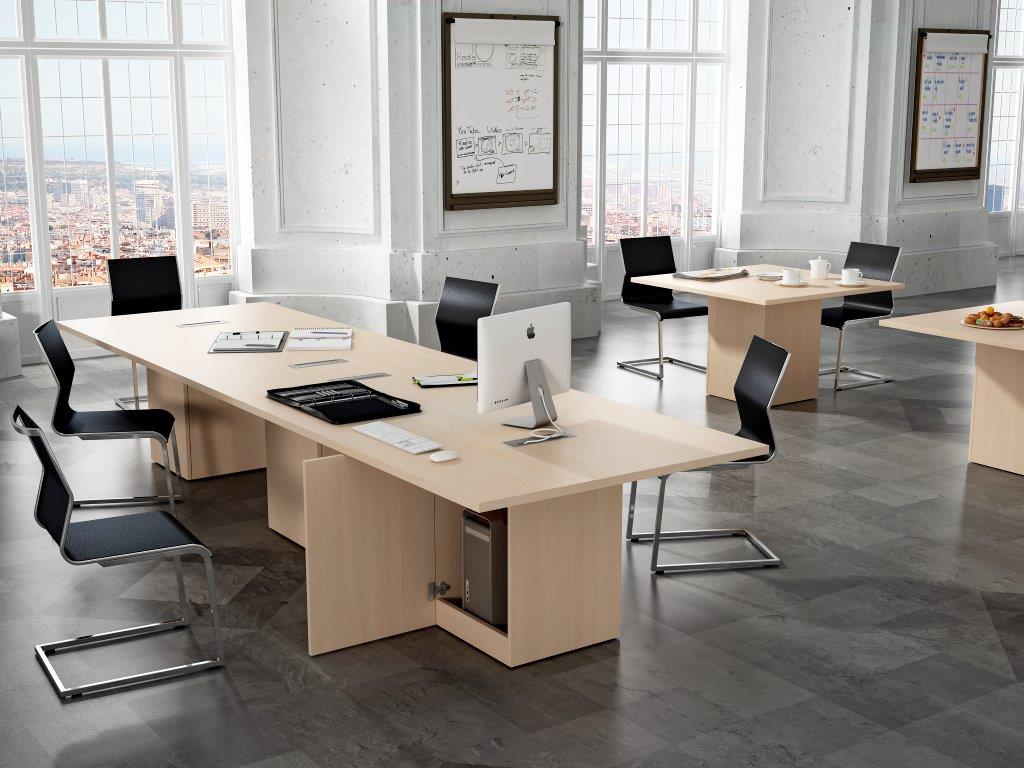 Mesa de juntas s5 mg mobiliario de oficinas - Mesa de juntas ...
